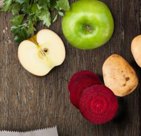 Karma dla psa bez zbóż i bez glutenu: owoce i warzywa