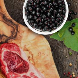 hipoalergiczna karma dla psa - jagnięcina i porzeczki