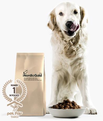 Naturalna karma dla psa UniQ Nordic Gold: Labrador