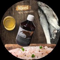 ekologiczny olej z łososia norweskiego